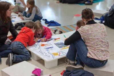 Création en famille au Centre Pompidou