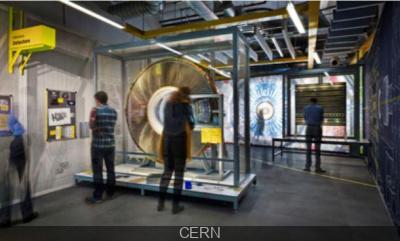 grand Collisionneur LHC au Palais de la Découverte