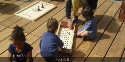 Jeux d'avant sur les Berges de Seine