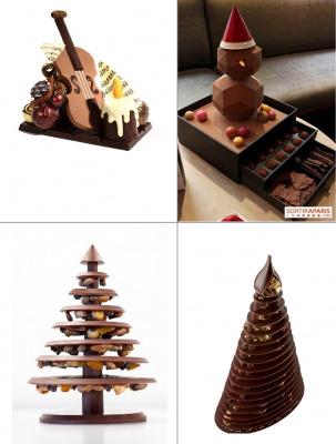 chocolats et douceurs de Noël 2014 à Paris