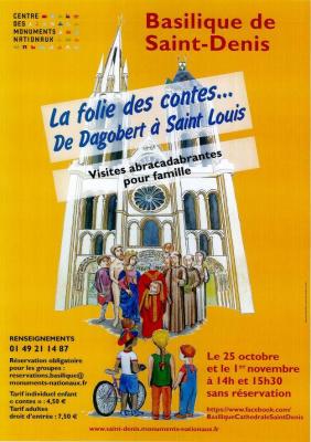 Folie des contes à la Basilique de Saint-Denis
