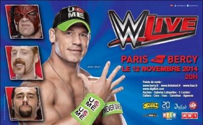 WWE  Bercy 2014