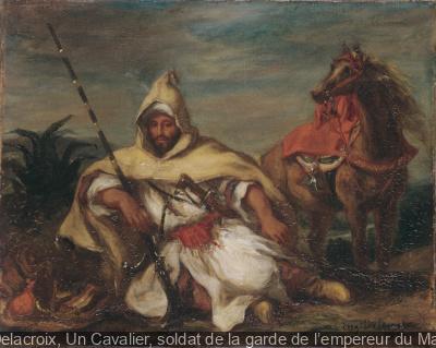 Eugène Delacroix, souvenir du Maroc au Musée Delacroix