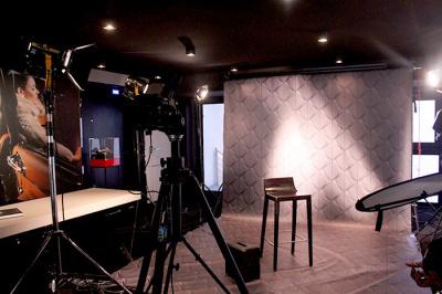 Un studio Harcourt éphémère à l'Espace DS