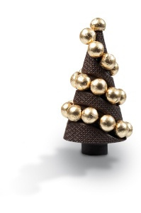 Chocolat de Noël 2014 : le sapin lumière de Michel Cluizel