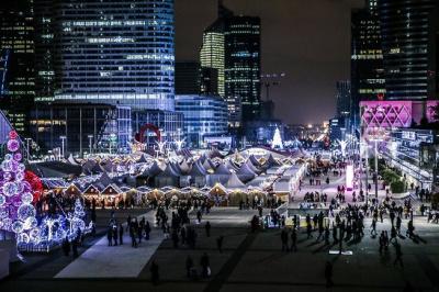 Le Marché de Noël de La Défense 2014