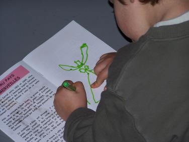 ateliers enfants de l'espace Dali