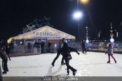 la patinoire écologique de Versailles