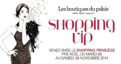 Noël 2014 : shopping VIP au Palais des Congrès de Paris