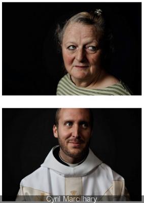 1001 visages, l'exposition à la Paroisse Saint-Laurent