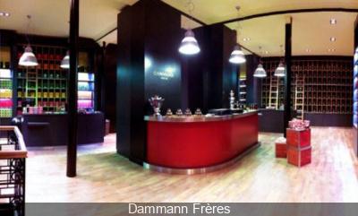 salon de dégustation Dammann Frères