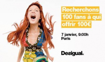 soldes d 39 hiver 2015 desigual vous offre 100 de v tements. Black Bedroom Furniture Sets. Home Design Ideas
