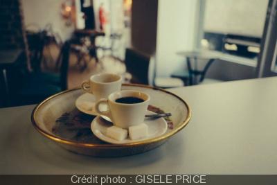 'lart du café chez Mel, Mich et Martin