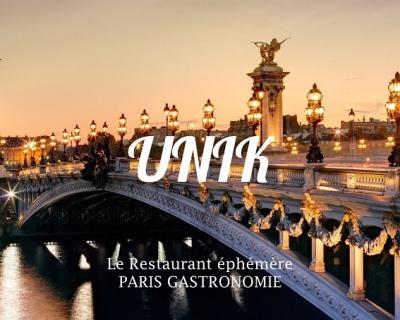 UNIK, le restaurant gastronomique éphémère de Ferrandi