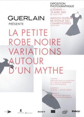 La petite robe noire de Guerlain, l'expo photo