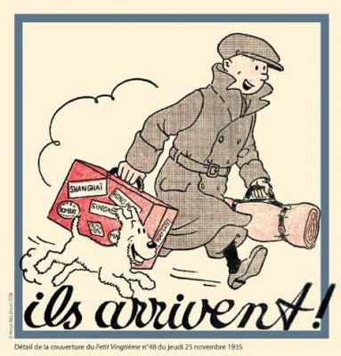 Tintin au Musée en Herbe