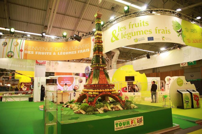 L 39 univers des fruits et l gumes frais au salon de l for Stand de degustation