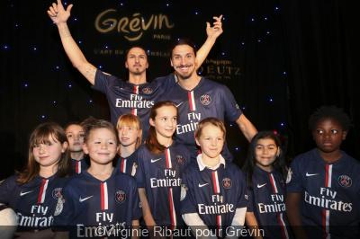 Zlatan Ibrahimovic au Musée Grévin