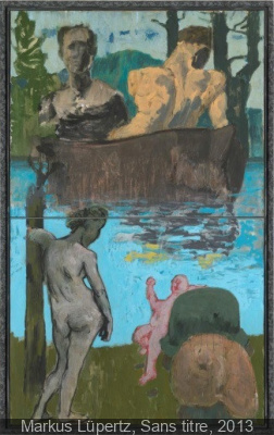 Markus Lüpertz au Musée d'art Moderne