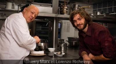 Thierry Marx et Lorenzo Richelmy