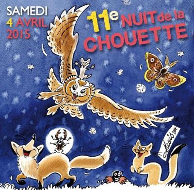 Nuit de la chouette 2015