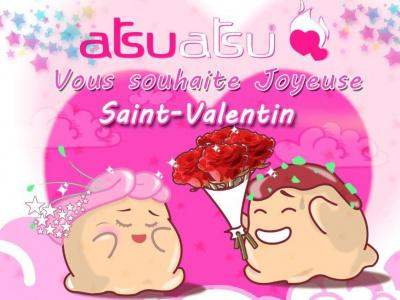 Saint Valentin chez ATSU ATSU