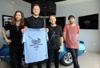 Imagine Dragons x Hard Rock Café