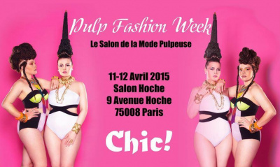 La Pulp'Fashion Week 2015 au salon Hoche