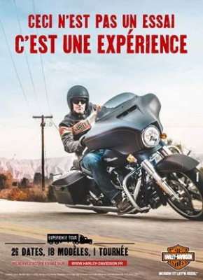Harley-Davidson Experience Tour 2015
