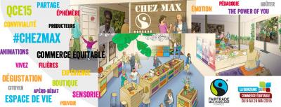 Chez Max, un lieu éphémère dédié au commerce équitable