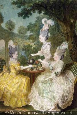 Thé, café ou chocolat, l'exposition au Musée Cognacq-Jay