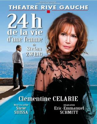 24h de la vie d'une femme au théâtre rive gauche