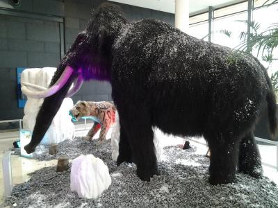 Les animaux de l'ère de glace à Vélizy 2