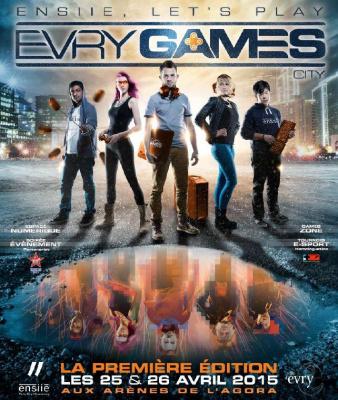 Evry Games city 2015
