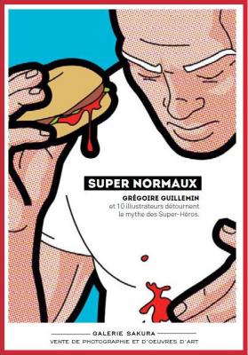 super-héros Super-Normaux à la Galerie Sakura