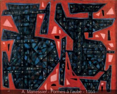 Manessier, du crépuscule au matin clair au Musée Mendjinsky