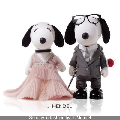 Snoopy et Belle in fashion 2015