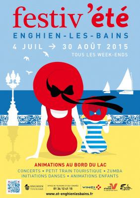Festiv'été 2015 à Enghien-les-Bains