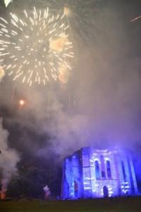 Feu d'artifice du 14 juillet 2015 à Dammarie-les-Lys