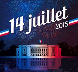 Feu d'artifice du 14 Juillet 2015 à Puteaux
