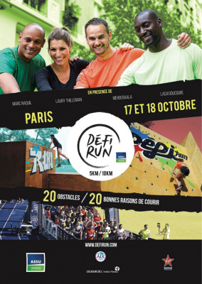 Défi Run Paris 2015