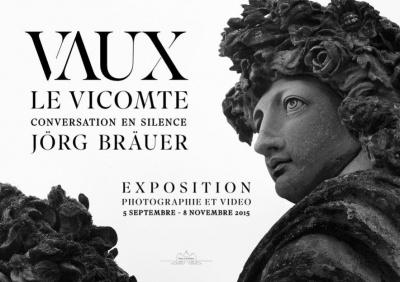 Jörg Bräuer, conversation en silence au Château de Vaux-le-Vicomte
