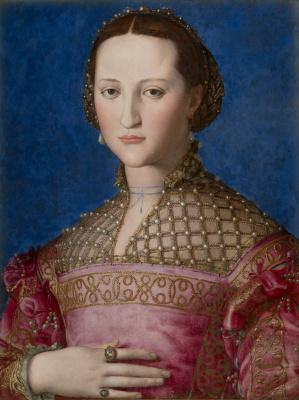 Agnolo Bronzino,Portrait d'Eléonore de Tolède, 1522