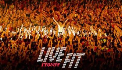 LiveFit, le fitness tour by L'Equipe