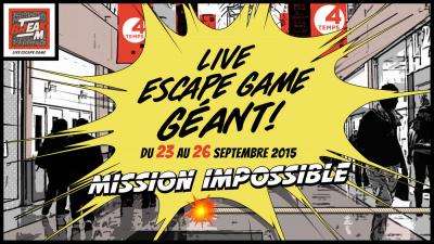 Escape Game géant aux 4 Temps