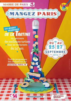les heures heureuses de la tartine à Paris