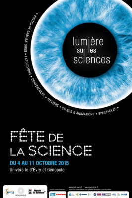 Fête de la science 2015 à l'Université d'Evry