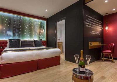 les bulles de paris l 39 h tel 100 champagne. Black Bedroom Furniture Sets. Home Design Ideas