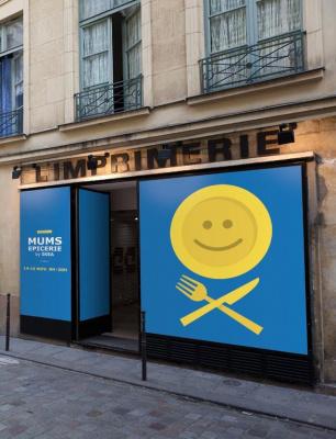 MUMS, l'épicerie éphémère by IKEA