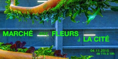 Marché aux fleurs à la Cité de la Mode